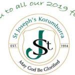 2019 St Josephs Fete Sponsors